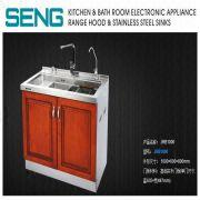 Charming China Solid Wooden Door Kitchen Cabinets Ready Made Kitchen Cabinets With  Sink