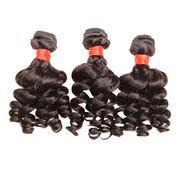 Brazilian virgin hair funmi loose wave natural col from China (mainland)