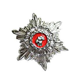 Emblem type metal badge from Taiwan