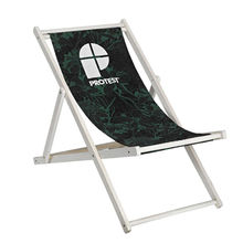 New outdoor wooden beach reclining chair