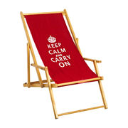 Wooden folding beach chair from China (mainland)
