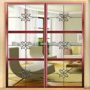 Crystal Decorative Interior Door Manufacturer