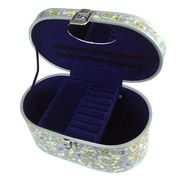 Oval jewelery case from China (mainland)