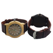 Natural wooden and bamboo watch from China (mainland)