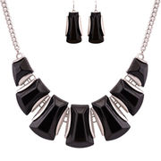 Statement Necklace and Earring Jewelry Set from China (mainland)