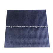 China Anti-vibration anti-slip rubber mat