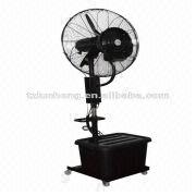 26'' height adjustable water mist fan, industrial humidifer