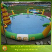China Adult Big Commercial Inflatable Pools/custom Inflatable Adult  Swimming Pool Toys