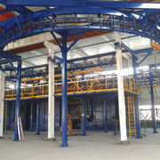 Q58 piled and released sand blasting equipment from China (mainland)