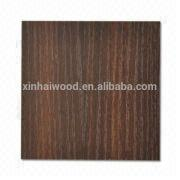 Xinhai Waterproof Dark Brown Wood Grain Melamine Laminated Plywood