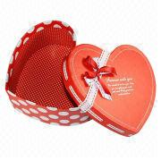 Two pieces heart shape rigid boxes from China (mainland)