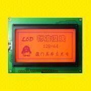 128 x 64 Dots LCD Module with 0.52 x 0.52mm Dot Pitch from Xiamen Ocular Optics Co. Ltd