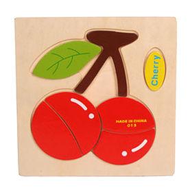 Cartoon wooden 3D puzzle toy Manufacturer