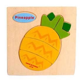 Fruit design children's wooden puzzle toy Manufacturer