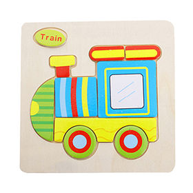 New stylish car shape wooden mini puzzle toy from China (mainland)