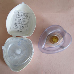 Mouth to Mouth CPR Masks with Plastic box