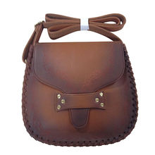 PU embossed flower shoulder bag from China (mainland)
