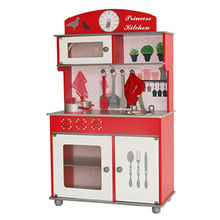 Modern role play wooden kitchen play toy sets from China (mainland)