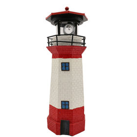 Resin Solar Lighthouse from China (mainland)