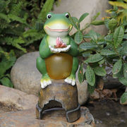 Polyresin Figurine Frog from China (mainland)