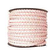 Braided leather cord bracelet from India