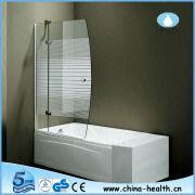 Bathtub Screen Hinge Shower Door With Handle JK118
