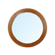 Round wood framed mirror from China (mainland)