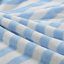 China Warp knitted cotton fleece blanket for baby