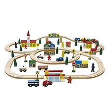 China Wooden Train Set Toy