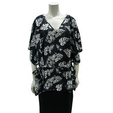 Ladies' woven fashion T-shirt from China (mainland)
