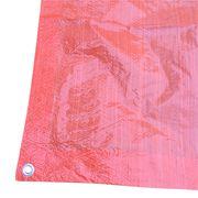 china plastic tarp dark orange color