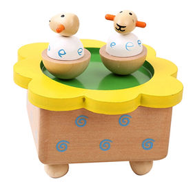 Promotional Gift Mini Wooden Music Box from China (mainland)