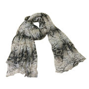 Oversize Snake Printed Scarf from China (mainland)