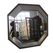 Octagon shaped distressed mirror from China (mainland)