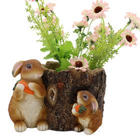 Garden Rabbit Flower Pots from China (mainland)