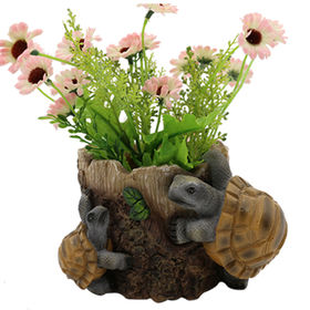 Resin Tortoise Flower Pots Garden Decor Manufacturer