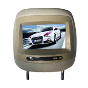 "7"" LCD Monitor Car Headrest Manufacturer"