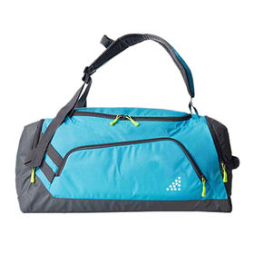 Sports duffel bags from China (mainland)