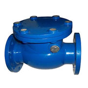 BS5153 cast iron flanged end swing check valve from China (mainland)
