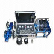Pipe Inspection Robot with Tilting Camera Head