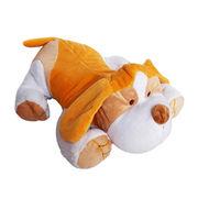 Plush stuffed dog pillow from China (mainland)