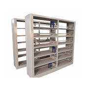 Double sized library steel bookcase from China (mainland)