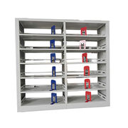 Double sized library metal bookcase from China (mainland)