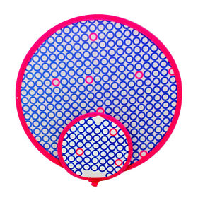 Promotional foldable polyester hand fan