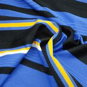 Auto Stripe Texture Jersey Fabric from Taiwan