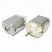DC Motor for Automotive Parts with Plug-in Terminal Type and 7.5 to 28V Operating Voltage