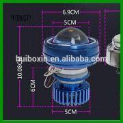Wholesale 2200LM 18w hi/lo Motorcycle LED headlight, 2200LM 18w hi/lo Motorcycle LED headlight Wholesalers