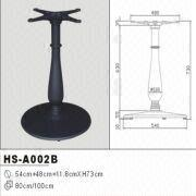 Beautiful Hot Sale Wrought Cast Iron Table Base Table Leg Furniture Leg HS A002B