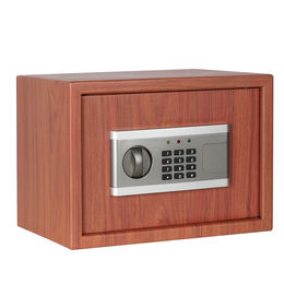 Wood Cherry Metal Safe Box from China (mainland)
