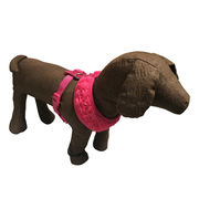 Hong Kong SAR Trimmed with rose Mesh Dog Harness, Breathable Air Mesh Material Adds Enough Comfort